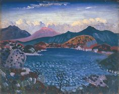 Bala Lake by James Dickson Innes Manchester City Galleries