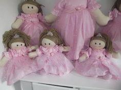 Boneca de pano princesa | Bonecas de Pano Tia Nu | Elo7