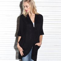 I want this! {Londira Cashmere Sweater in Black} by Stella and Jamie