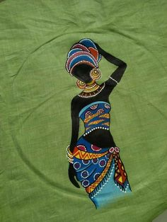 Most up-to-date Photographs Fabric painting for navratri Thoughts , Worli Painting, Saree Painting, Dress Painting, T Shirt Painting, Fabric Painting, Fabric Art, Hand Painted Dress, Hand Painted Fabric, Painted Clothes