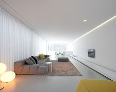 to close image, click and drag to move. Use arrow keys for next and previous. Minimalist Interior, Minimalist Home, Modern Interior Design, Interior Architecture, Apartment Interior, Living Room Interior, Living Room Designs, Living Spaces, Appartement Design