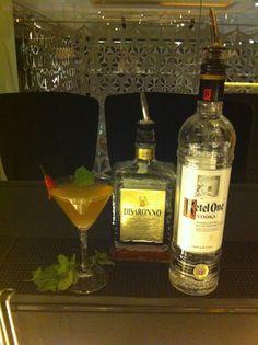 Giuseppe Baldi BA de Dissaronno nos presenta esta maravilla con Disaronno y Ketel One para nuestra carta de cocktails online! #worldclass15