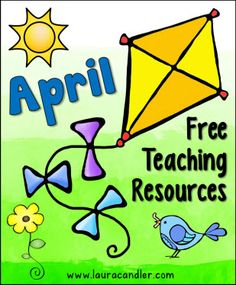 Laura Candler's Seasonal Teaching Resources - Newly updated with April freebies!