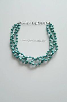 Hey, I found this really awesome Etsy listing at https://www.etsy.com/listing/285572351/turquoise-statement-necklace-turquoise