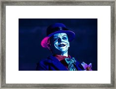 Go with a Smile Framed Print by Jeremy Guerin Canvas Prints, Framed Prints, Art Prints, Batman Artwork, Joker Art, Fantastic Art, Hanging Wire, Tag Art, Wood Print