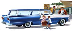 1958 Ford Ranch Wagon-we had one of these when I was growing up . . .I hated it.