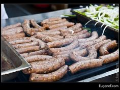 Group Polish Sausages #Food #freewallpapers