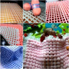This is really an easy and fun project to make fluffy pom pom blanket for babies or home bedding and decor. You can start from square and rectangle which is easier, once you know how to wrap the yarn, you can create your patterns such as heart, star or hexagon (I had posted a hexagon...  Read more »