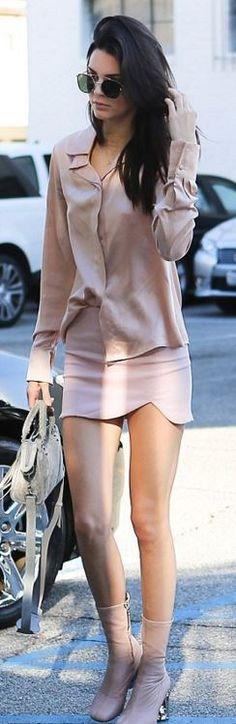 Kendall Jenner: Sunglasses – Anhelm  Purse – Balenciaga  Shoes – Acne Studios  key chain – Fendi