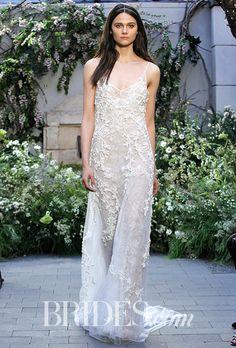 Brides: Monique Lhuillier Wedding Dresses - Spring 2017 - Bridal Fashion Week