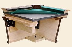 Pool Tables, Game Room Furnishings and More. Diy Pool Table, Custom Pool Tables, Pool Table Room, Diy Table, Gaming Table Diy, Billard Table, Wood Bench Plans, Game Room Furniture, Wood Shop Projects