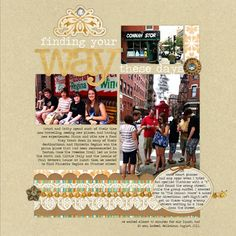 Do your scrapbook pages do these 4 things?