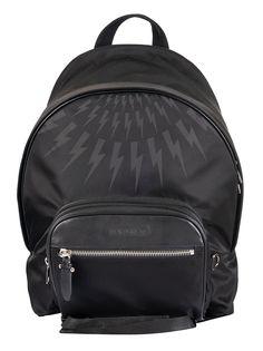 Neil Barrett Thunderbolt Backpack In Black Black Black Backpack, Backpack Bags, Fashion Backpack, Neil Barrett, Backpacks, Mens Fashion, Shopping, Products, Moda Masculina