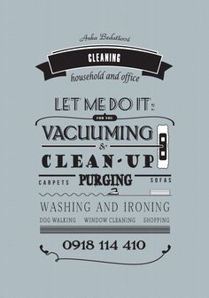 retro styled cleaning services
