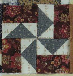 Blok 20 van 1865 passion sampler quilt