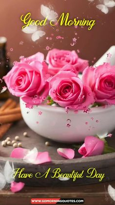Good Morning Beautiful Flowers, Good Morning Nature, Good Morning Image Quotes, Morning Love, Good Morning Photos, Good Morning Beautiful Quotes, Good Morning Messages, Good Morning Greetings, Cute Good Morning Gif
