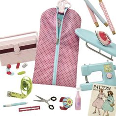 """Amazon.com : Our Generation Sewing And Dressmaking Set For 18"""" Dolls : American Girl Doll Accessories : Toys & Games"""