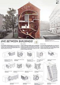 Live between buildings - some of these are pretty interesting....Roof Windows, Skylights, Loft Ladders | FAKRO, for professionals, FAKRO-architects, competitions, IDC - 4th edition and 3rd edition particularly