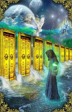 Keeper of the Akashic Records by Elric2012.deviantart.com