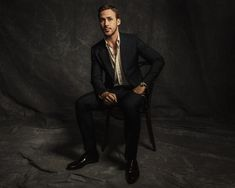 goslingfrance: Ryan Gosling Vanity Fair Portrait Studio at TIFF 2016