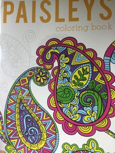 Adult Coloring Book Patterns Bendon Stress Relief Relax Rewind ...
