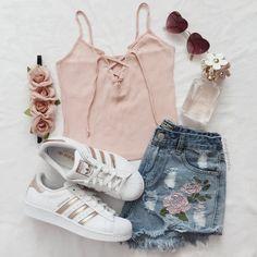 summer fashion trends looks great! Cute Teen Outfits, Teenager Outfits, Cute Summer Outfits, Teen Fashion Outfits, Outfits For Teens, Trendy Outfits, Cool Outfits, Girl Fashion, Mens Fashion