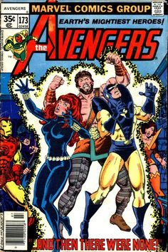 Avengers #173 Marvel Comics  Auction your comics on www.comicbazaar.co.uk