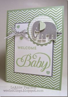 Baby Zoo Babies Stampin Up
