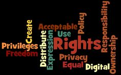 digital rights and responsibilities pictures | edtp504Sum11-2 - Digital Rights and Responsibilities