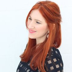 TfDiaries By Megan Zietz: 4 Easy Holiday Hairstyles