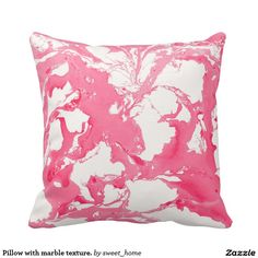 Pillow with marble texture.  | Room | Elegant style | Classic Design | abstract | marble | paint | pattern | stone texture |