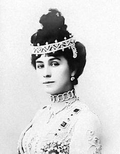 Her Serene Highness Princess Mathilde Romanova-Krasinskaya (1872-1971), morganatic wife of His Imperial Highness Grand Duke Andrei Vladimirovich of Russia née Mathilda-Marie Feliksovna Kschessinskaya