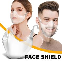 2020 NEW Fashion Alternative Transparent Shield – becandoit New Radicals, Clear Face Mask, Facial, Nose Strips, Dry Well, Protective Mask, New Fashion, Timeless Fashion, Scary Halloween