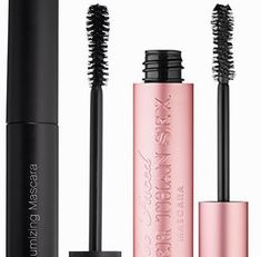 Too Faced's Better Than Sex Mascara Dupe - this wand looks very similar however I haven't tried it, comparable maybe. Elf is cruelty free and contains no animal ingredients. Blinc Mascara, Mascara Brush, 3d Fiber Lash Mascara, Mascara Tips, How To Apply Mascara, Volume Mascara, Beauty Dupes, Makeup Dupes, Beauty Makeup