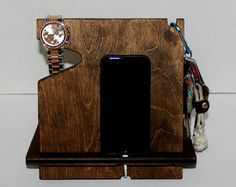 Paleta madera cabecera Storage Utility caja por AmbientWood en Etsy