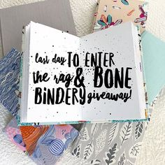 Today is the last day to enter my Rag & Bone Bindery giveaway! Be sure the click the link in my profile for your chance to win a $100 gift certificate from @ragandbonebindery . The giveaway closes at end of day today (EST) and a winner will be randomly selected by the end of the week. Good luck! . . #thefoundartwalk #ragandbonebindery #handmadebooks #bookbinding #artjournal #visualjournal #journaling #journals #sketchbook #handmade