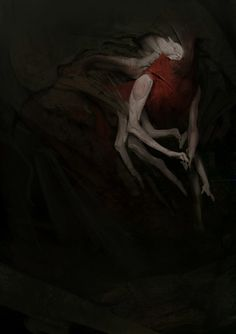 Scab – monster concept by Anthony Jones