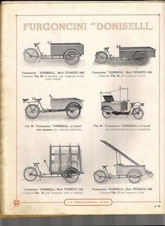 Vintage Doniselli Utility Bikes