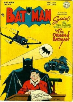 Batman #47 The Origin of Batman