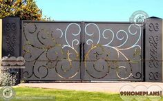 More Stylish Compound Gate Design Photos & Create your Dream Home Compound Walls with Latest Iron Front Gate Luxury, Impression Models and Collections