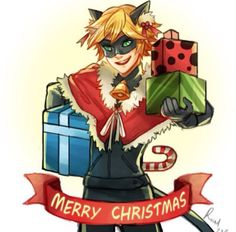 Merry Christmas | Chat Noir