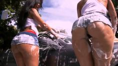 Super Hot and Sexy Car Wash - Two sexy girls with HOT asses wash a c. New Movies, Movies Online, Car Wash Girls, Sexy Cars, World, Youtube, Yup, Google Search, The World