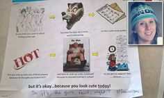 'Boys see you as meat and it's distracting!' Horrifying flyer posted in an Arizona high school claims girls who dress 'cute' will end up with 'underemployed, uneducated' men | Daily Mail Online