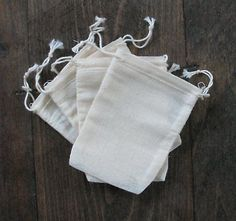 All-Purpose Craft Supplies 31742: 5000 Mini Cotton Muslin Double Drawstring Bags -> BUY IT NOW ONLY: $702 on eBay!