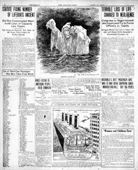Titanic: Denver Post coverage from 1912 Titanic History, Rms Titanic, Amphibians, Reptiles, Trivia Of The Day, Denver Post, Modern History, Cutaway, Ghosts