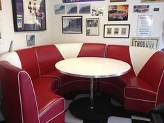 How to Build a 50s Diner Booth