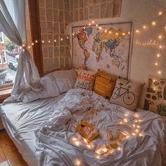 42 Cozy Halloween Bedroom Decorating Ideas Cozy Bedroom Ideas Bedroom cozy decorating Halloween Ideas - New Site Cute Room Decor, Room Decor Bedroom, Master Bedroom, Modern Bedroom, Contemporary Bedroom, Bedroom Inspo, Bohemian Bedroom Design, Bed Room, Bedroom Vintage
