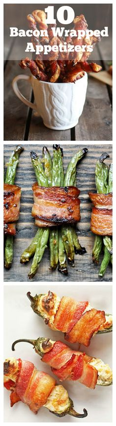 These bacon wrapped appetizers are so delicious, you'll want to serve them as the main course.