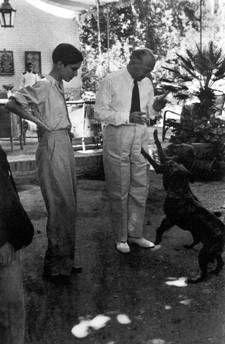 Annemarie Schwarzenbach et l'ambassadeur allemand, Iran 1939