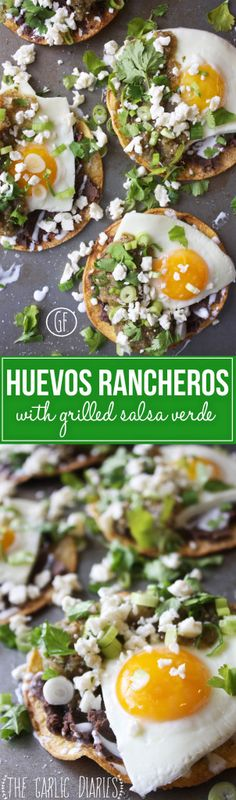 huevos rancheros with grilled salsa verde more huevos rancheros food ...